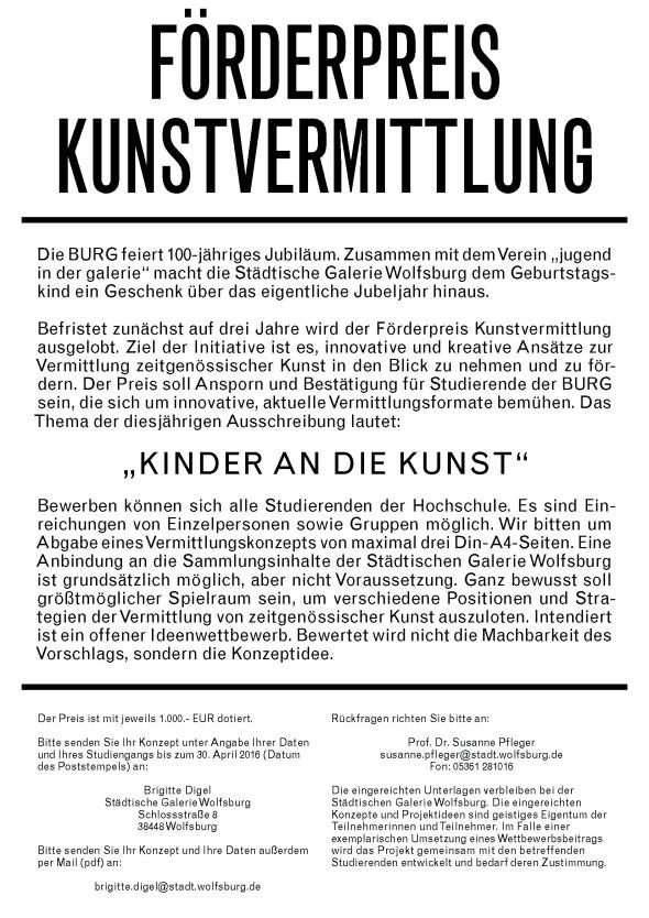 Preis Vermittlung Poster Mail