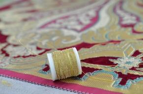 In der Textilmanufaktur Foto: Aart van Bezooijen