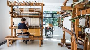 Werkstatt der Textilmanufaktur Foto: ZYKLOP